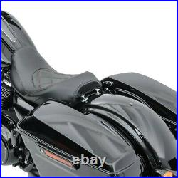 Selle moto Craftride RH3 pour Harley Davidson Touring 09-20 noir