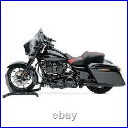 Selle moto Craftride TG3 pour Harley Davidson Touring 09-20 noir-rouge