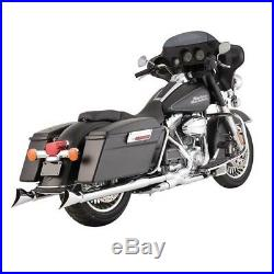Silencieux Echappement Vance & Hines Fishtail Harley Touring 1995-2016