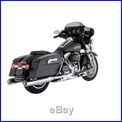 Silencieux Echappement Vance & Hines Monster Round Harley Touring 1995-2016