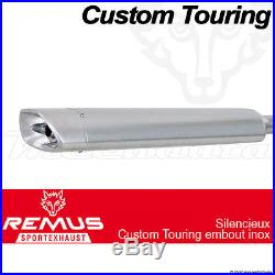 Silencieux Pot échappement Remus Touring Inox Harley-Davidson FLHRSE 14