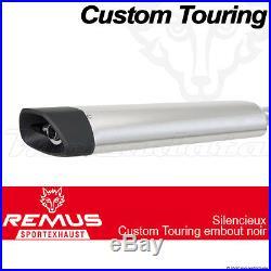 Silencieux Pot échappement Remus Touring Noir ECS Harley-Davidson FLHX 09