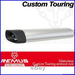 Silencieux Remus Touring Noir Harley-Davidson FLHT Electra Glide Standard 09