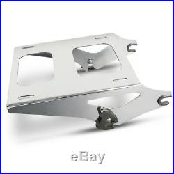 Support pour Topcase 2-Up TP pour Harley Davidson Road King 14-20 chrome