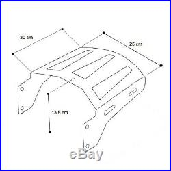 Support pour Topcase 2-Up TP pour Harley Davidson Touring 14-20 chrome