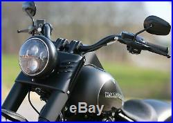 Thunderbike Mini LED Clignotants Noir, Harley Touring Embrayage Hydraulique