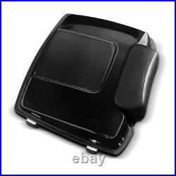 Top Case Chopped pour Harley-Davidson Touring 09-13 kit montage portebagage noir