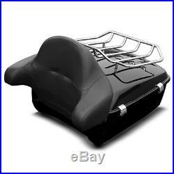 Top Case King pour Harley-Davidson Touring 14-19 kit de montage porte bagage