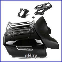 Top Case L avec kit de montage porte bagage pour Harley-Davidson Touring 14-19