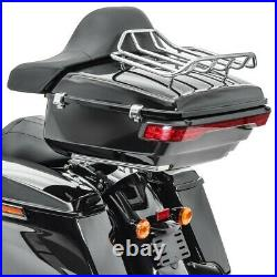 Topcase Set pour Harley Electra Glide Standard 19-21 + haut parleurs rouge