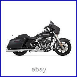 Vance & Hines 450 Slip-Ons Chrome, pour Harley Davidson Touring 95-16