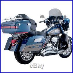 Vance & Hines Big Radius 2- en-2 Chrome Harley Davidson Touring 2010-2016